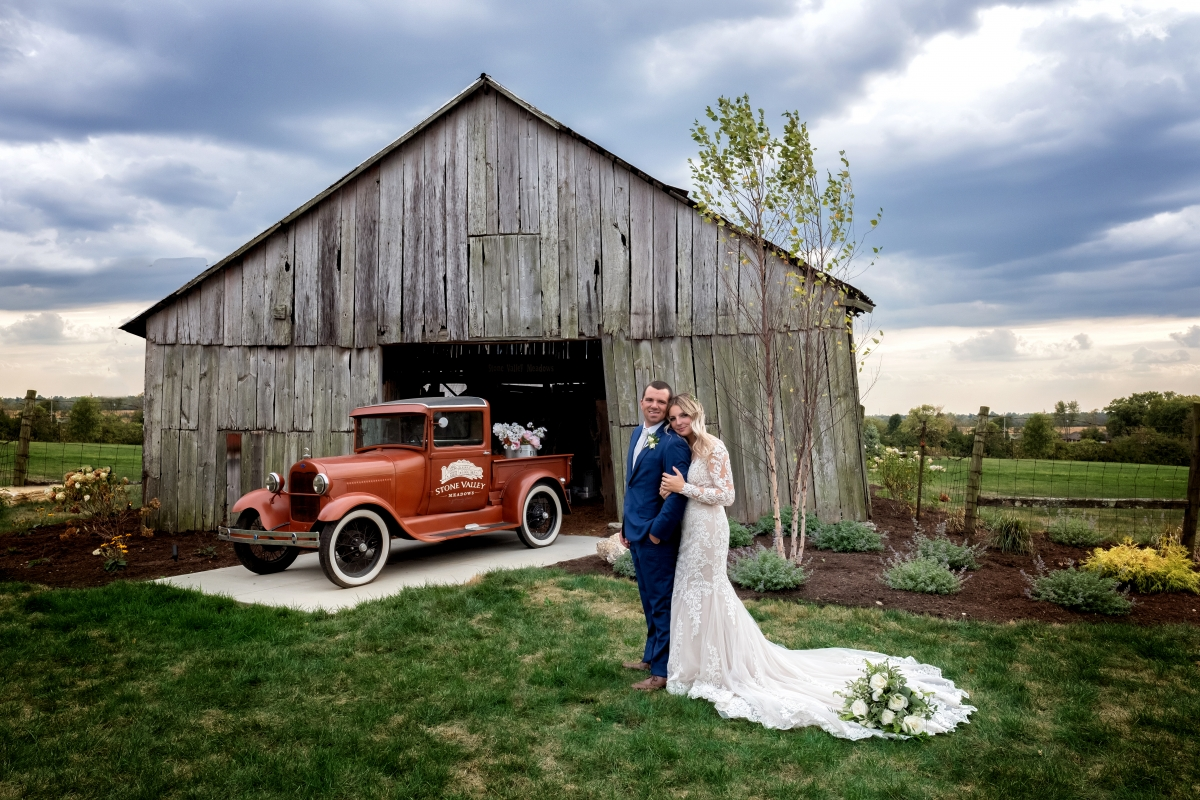 The Cook's Wedding Album | Cincinnati Wedding Photographer | Stone Valley Meadows